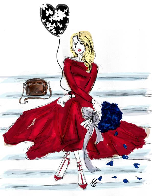 s.valentino martina sketch
