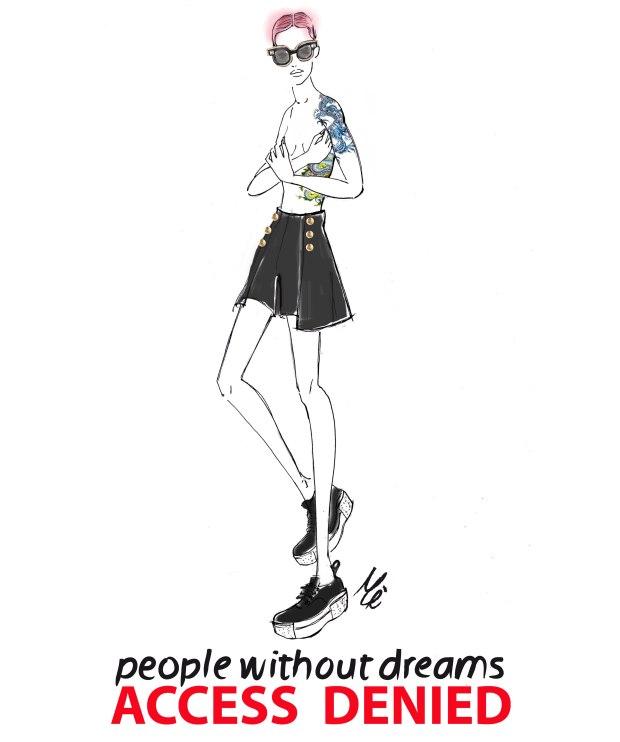 no dreamer out